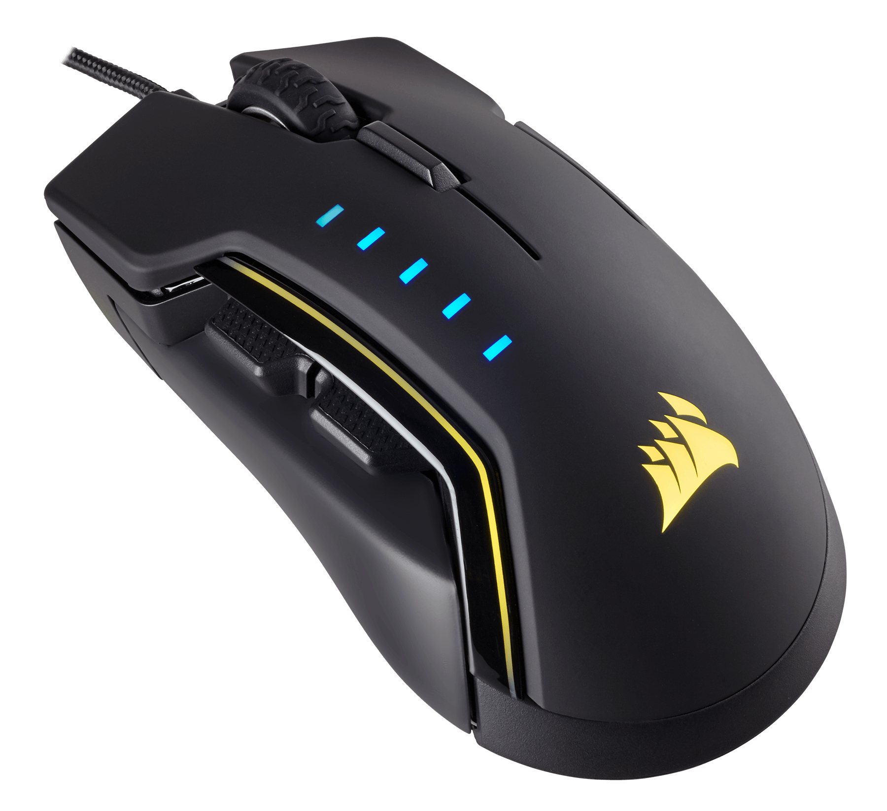 CORSAIR CH-9302011-EU USB OPTICAL 16000DPI RIGHT-HAND BLACK,YELLOW MICE