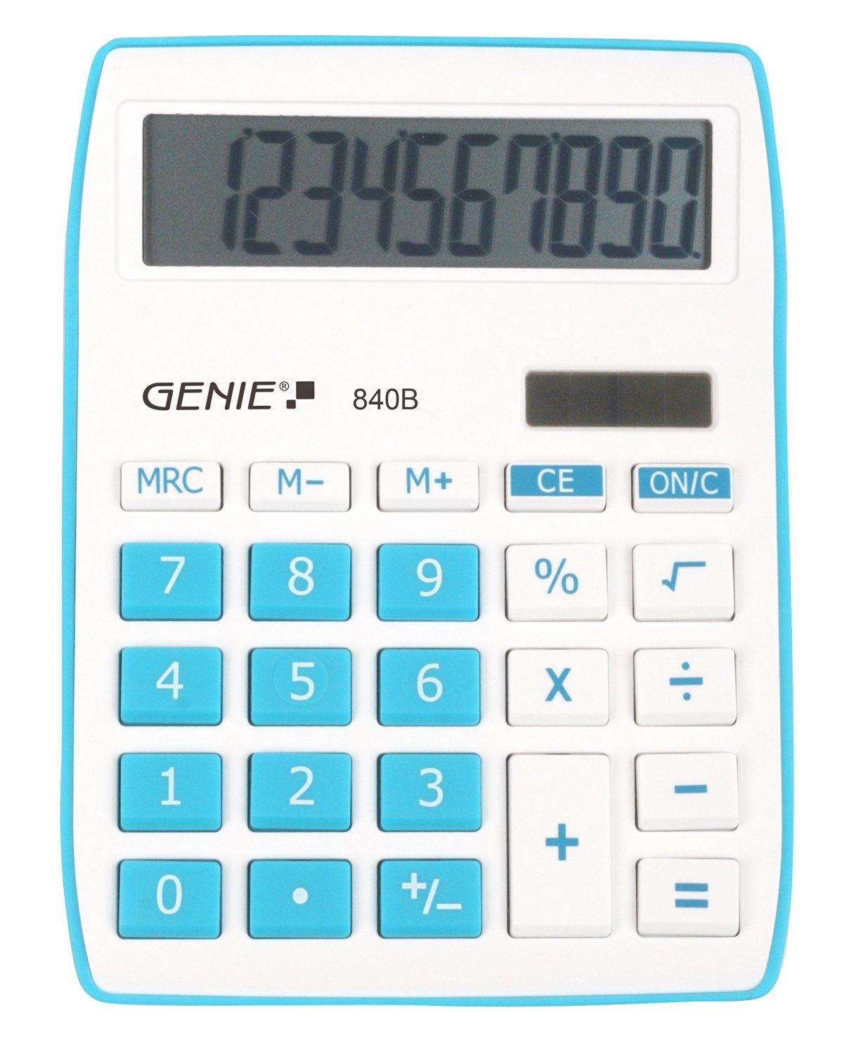 GENIE CCTV 12260 840B BLUE CALCULATOR