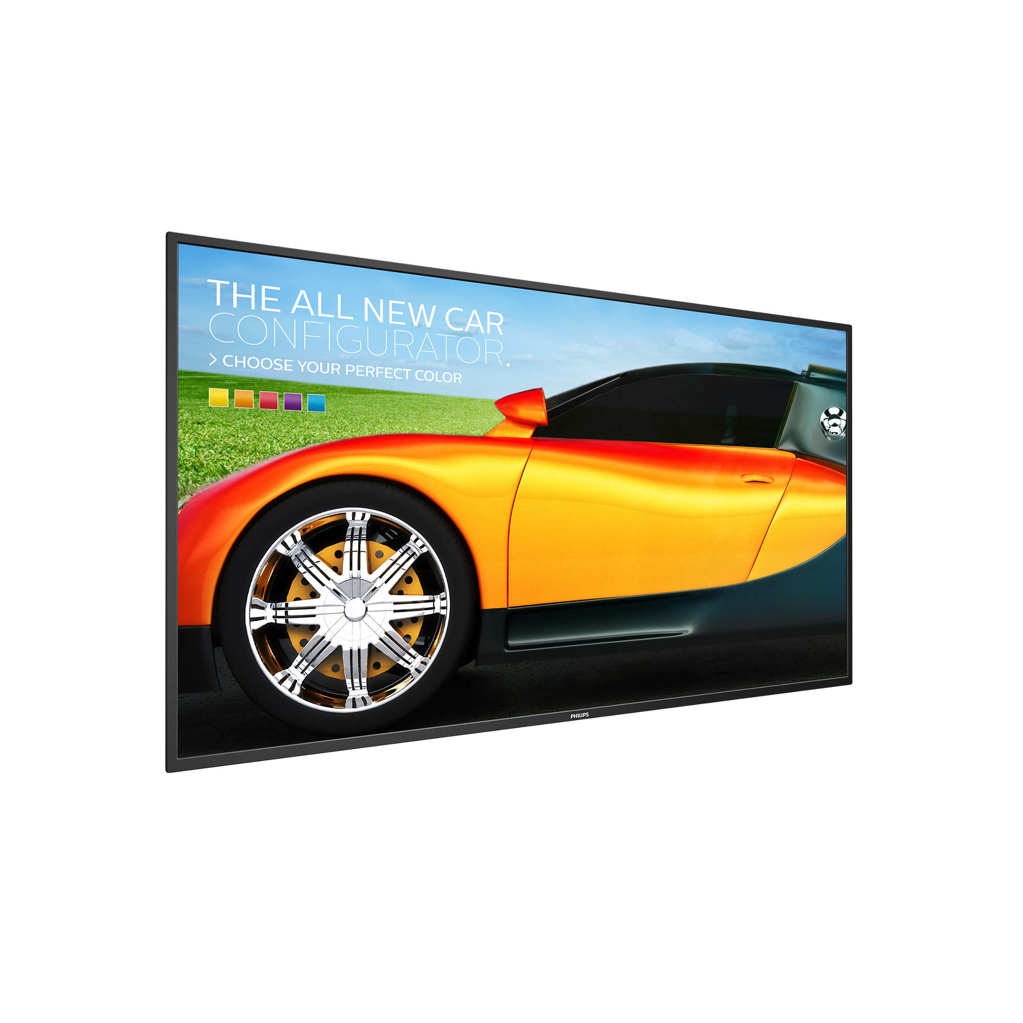 PHILIPS BDL4330QL DIGITAL SIGNAGE FLAT PANEL 42.5