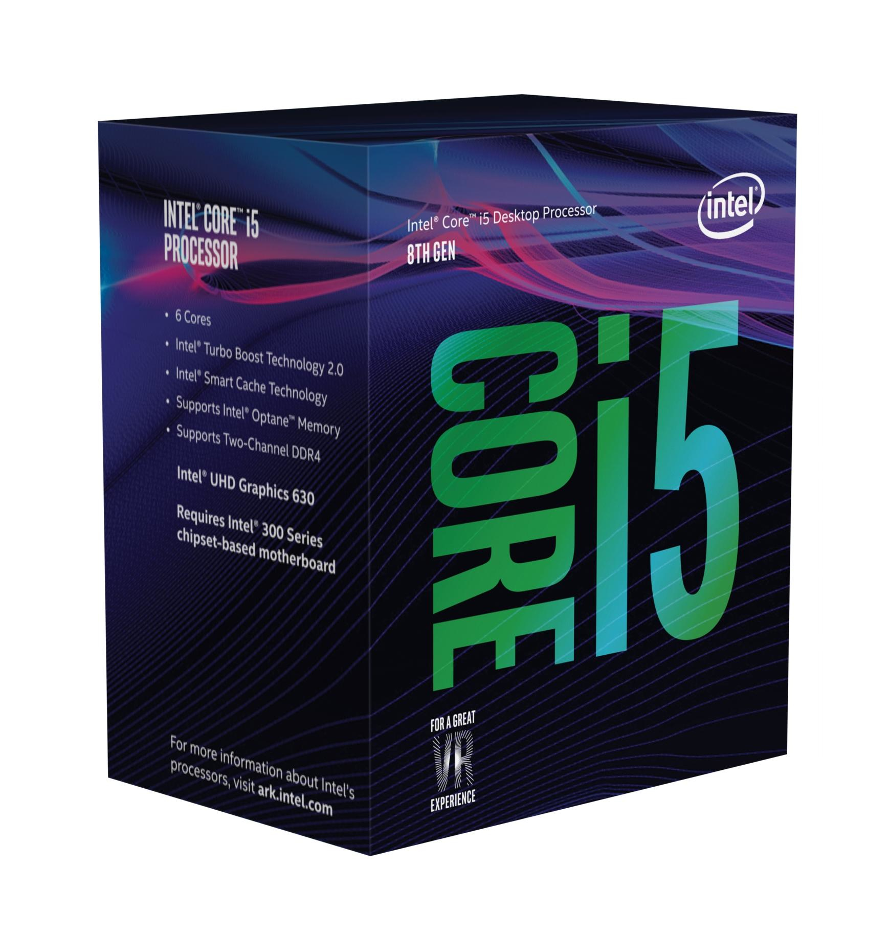 INTEL CORE I5-8600 PROCESSOR (9M CACHE, UP TO 4.30 GHZ) 3.1GHZ 9MB SMART CACHE BOX