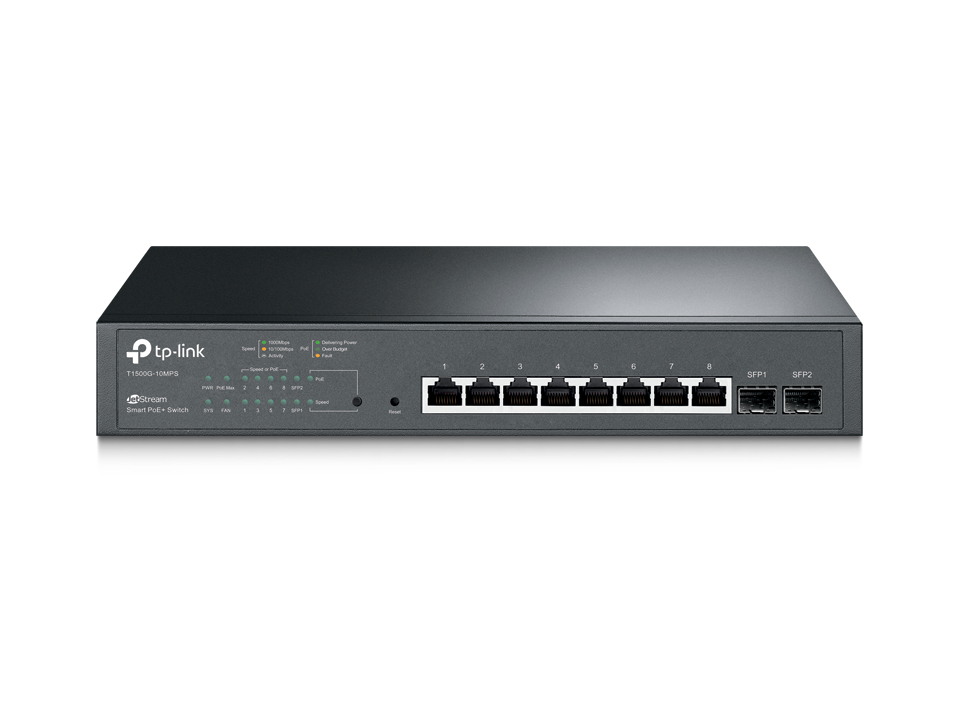 TP-LINK T1500G-10MPS MANAGED NETWORK SWITCH