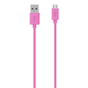 BELKIN MICRO-USB - USB CHARGESYNC CABLE, PINK