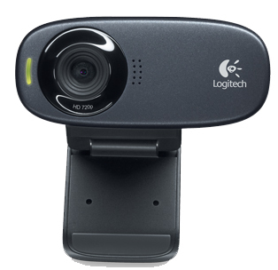 LOGITECH LGT-C310 HD WEBCAM C310 BLACK