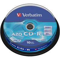VERBATIM 43437 CD-R EXTRA PROTECTION 700MB 10PC(S)