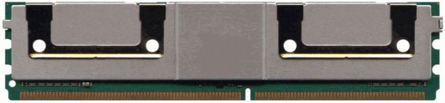 2-POWER MEM7103A 8GB PC2-5300 DDR2 667MHZ ECC MEMORY MODULE