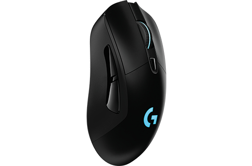 LOGITECH G703 RF WIRELESS+USB 12000DPI RIGHT-HAND BLACK MICE