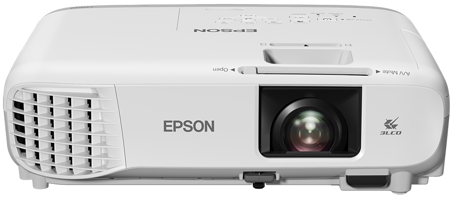 EPSON EB-S39 CEILING-MOUNTED PROJECTOR 3300ANSI LUMENS 3LCD SVGA (800X600) GREY, WHITE DATA