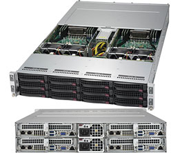 Supermicro SYS-5028TK-HTR-NF5 2000W server