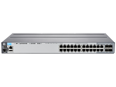 HPE J9726A#ABB ARUBA 2920 24G MANAGED NETWORK SWITCH L3 GIGABIT ETHERNET 1U GREY