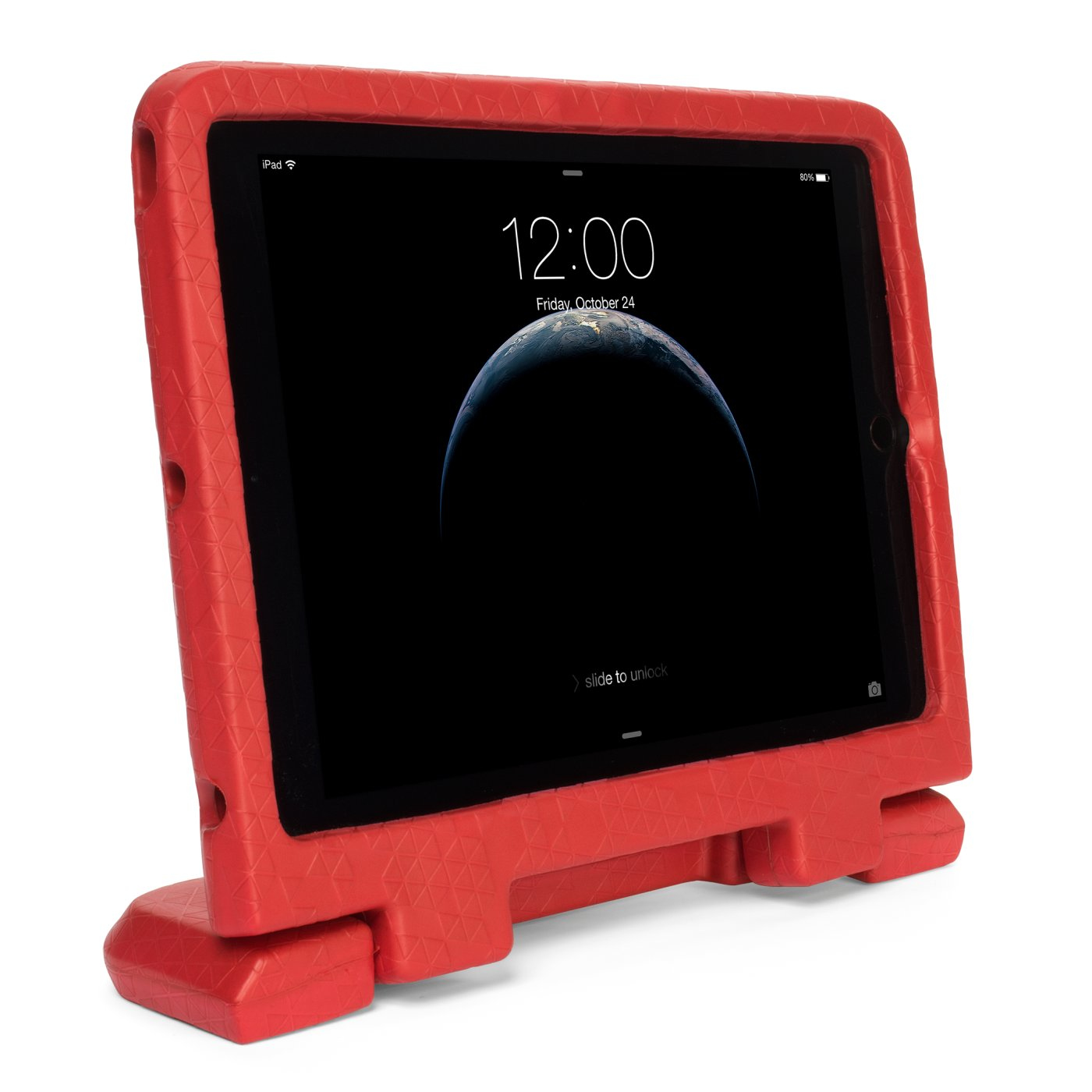 KENSINGTON SAFEGRIP RUGGED CASE FOR IPAD AIR 2 RED