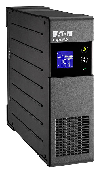 EATON POWERWARE ELP650DIN ELLIPSE PRO 650 DIN 650VA 4AC OUTLET(S) RACKMOUNT/TOWER BLACK UNINTERRUPTIBLE POWER SUPPLY (UPS)