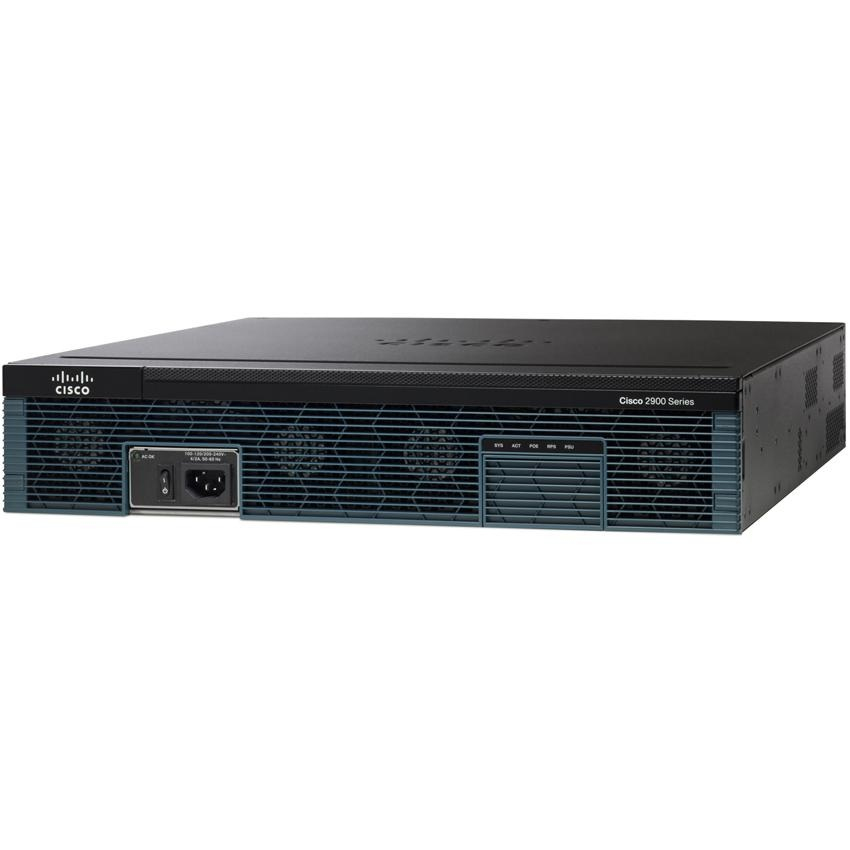 Cisco 2921 wired router Black