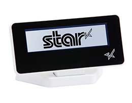 STAR MICRONICS 39990020 BLUE BACK-LIT, LCD DISPLAY, WHITE