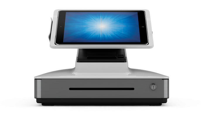 ELO TOUCH SOLUTIONS SOLUTION PAYPOINT PLUS WHITE POS TERMINAL