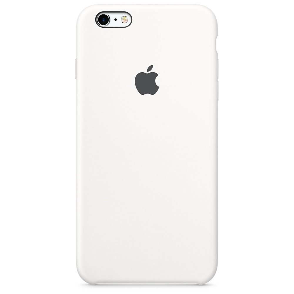 APPLE IPHONE 6S SILICONE CASE - WHITE
