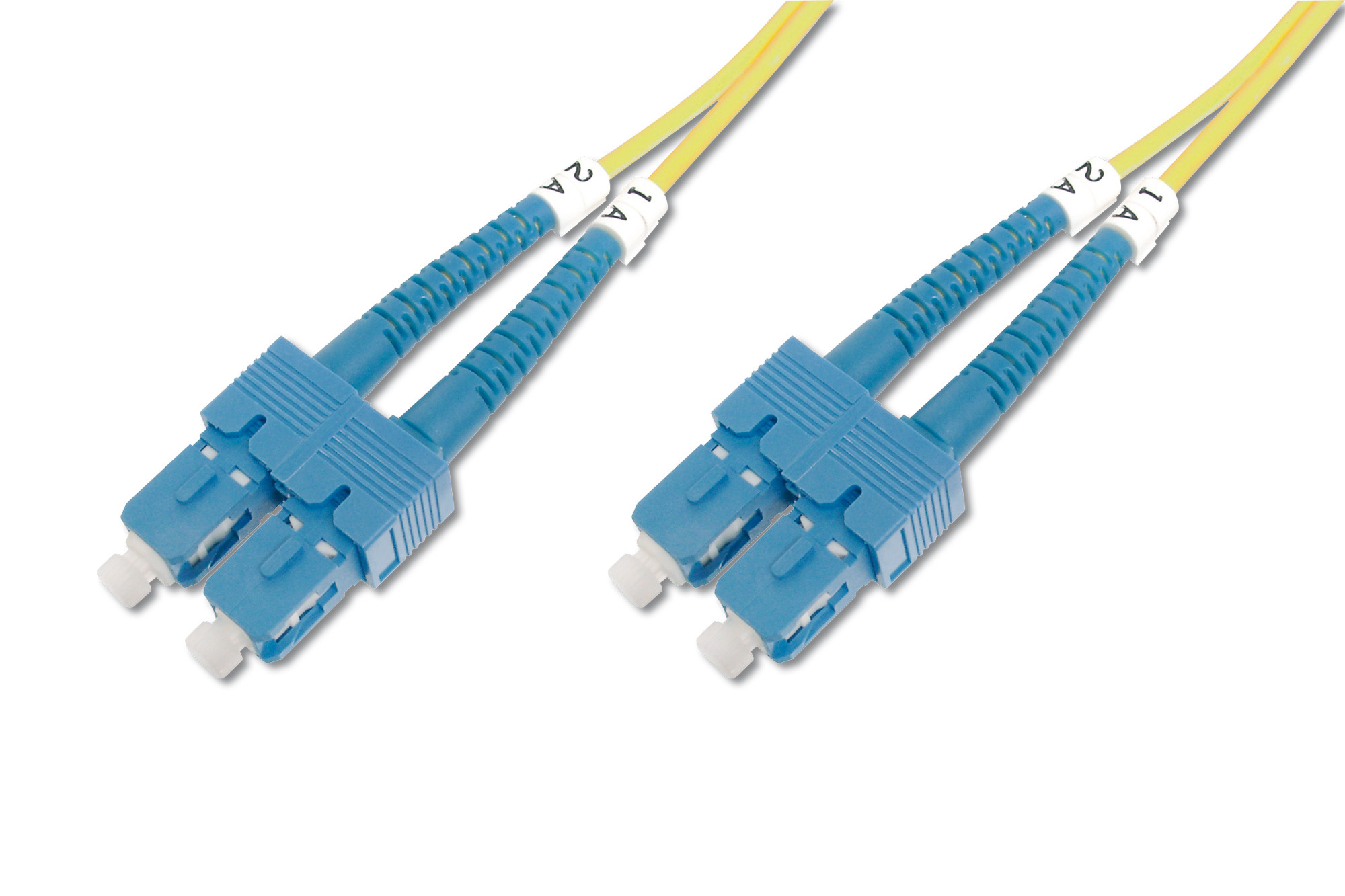 DIGITUS DK-2922-10 SC/SC, 10 M 10M SC YELLOW FIBER OPTIC CABLE