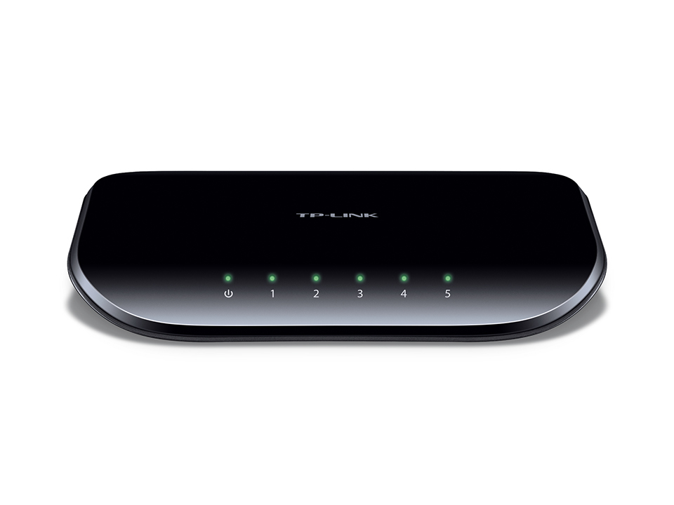 TP-LINK TL-SG1005D UNMANAGED NETWORK SWITCH GIGABIT ETHERNET (10/100/1000) BLACK