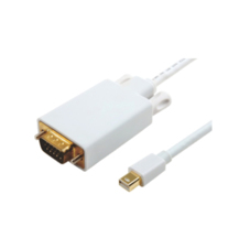 MICROCONNECT MDPVGA3W MINI DISPLAYPORT-VGA M-M WHITE 1M