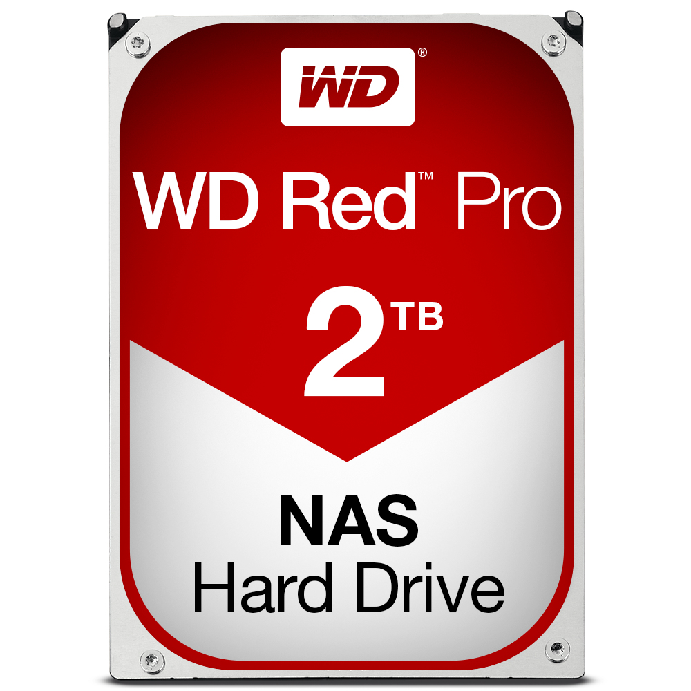 WESTERN DIGITAL RED PRO 2000GB SERIAL ATA III INTERNAL HARD DRIVE
