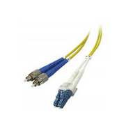 MICROCONNECT FIB741003 3M FC/UPC-LC/UPC FC/UPC LC/UPC OS2 YELLOW FIBER OPTIC CABLE