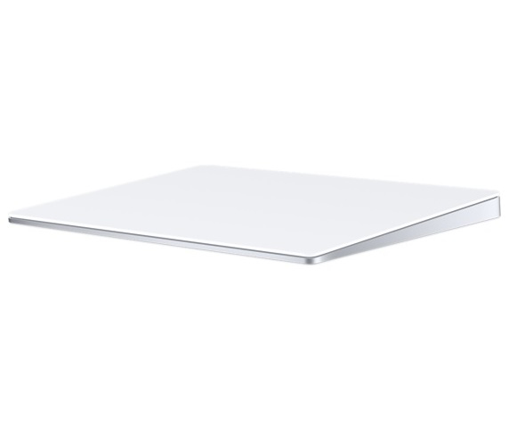 APPLE MAGIC TRACKPAD 2 WIRELESS SILVER, WHITE TOUCH PAD
