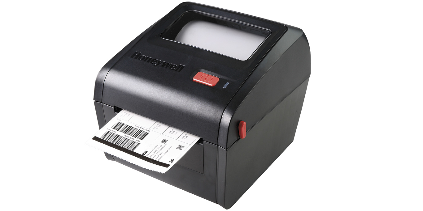 HONEYWELL PC42D DIRECT THERMAL 203 X 203DPI LABEL PRINTER