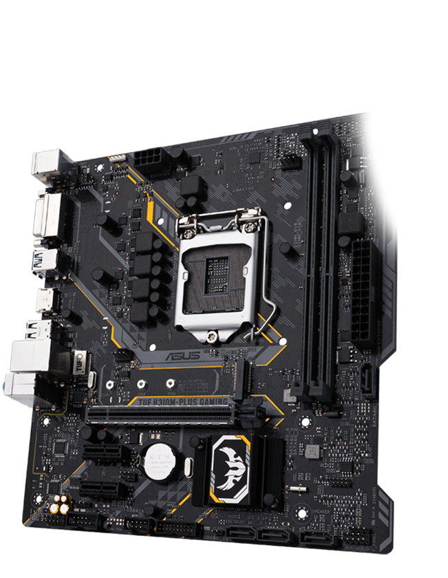 ASUS TUF H310M-PLUS GAMING INTEL H310M LGA 1151 (SOCKET H4) MICRO ATX