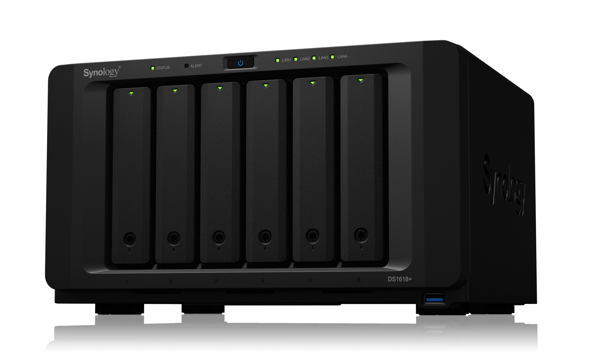 SYNOLOGY DS1618+/60TB-REDPRO 6 BAY NAS