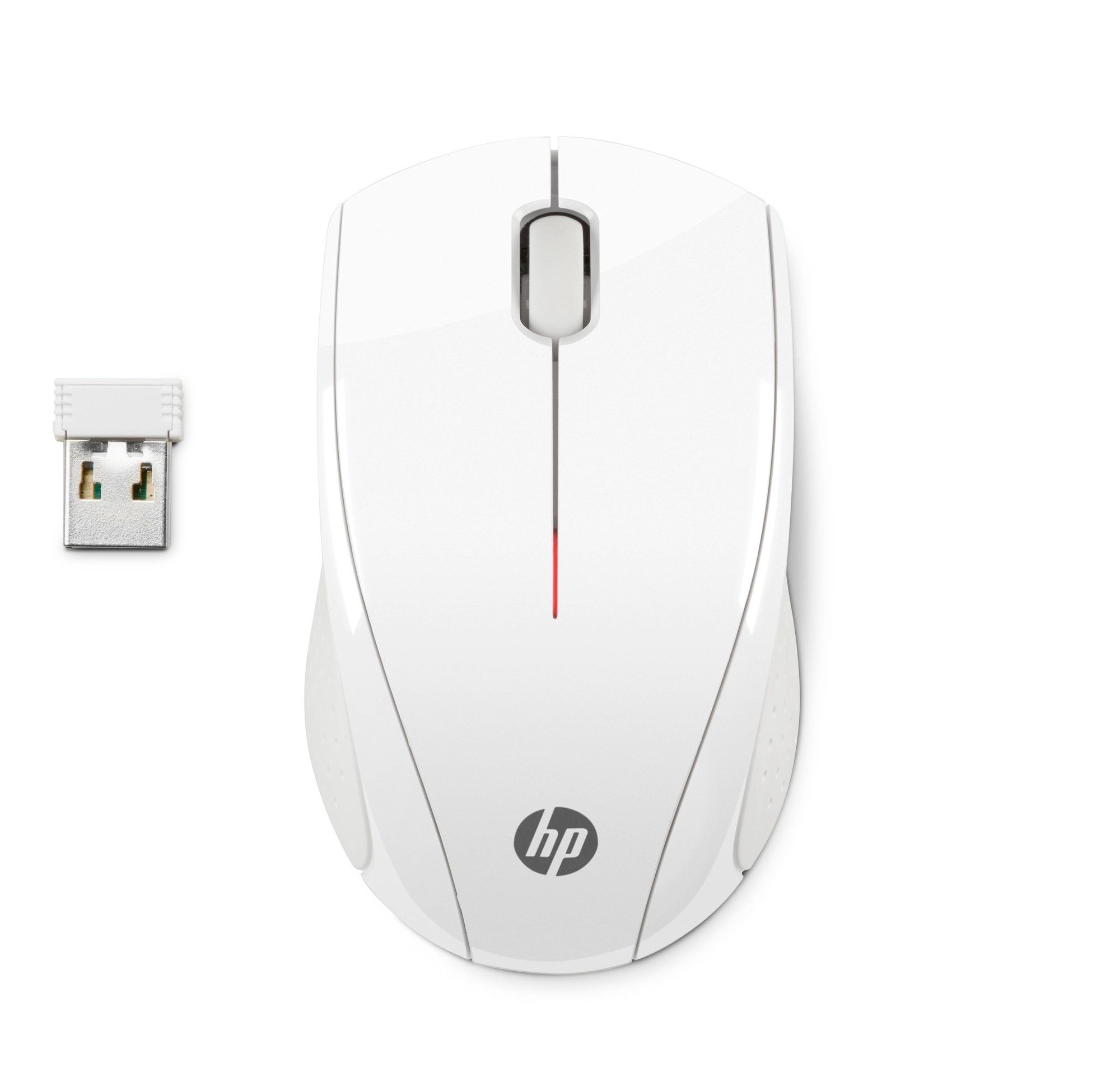 HP N4G64AA X3000 BLIZZARD WHITE WIRELESS MOUSE