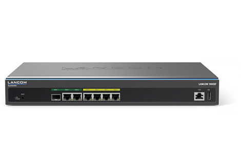 LANCOM SYSTEMS 62105 1900EF ETHERNET LAN BLACK WIRED ROUTER