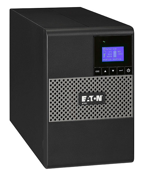 EATON POWERWARE 5P1550I 5P 1550I 1550VA 8AC OUTLET(S) TOWER BLACK UNINTERRUPTIBLE POWER SUPPLY (UPS)