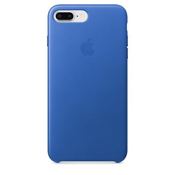 APPLE IPHONE 8 PLUS / 7 LEATHER CASE - ELECTRIC BLUE