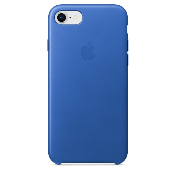 APPLE IPHONE 8 / 7 LEATHER CASE - ELECTRIC BLUE