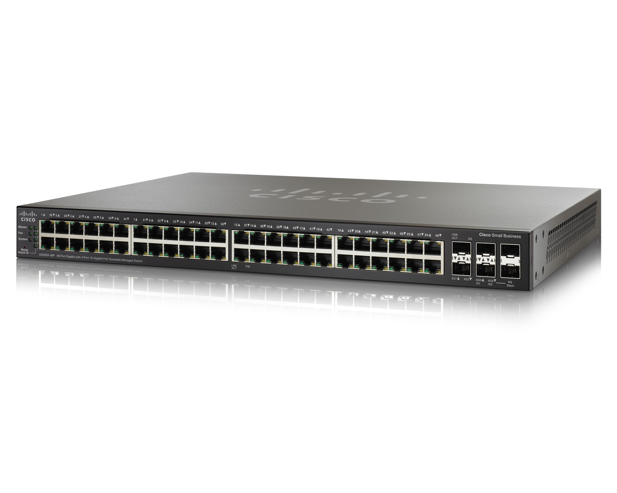 CISCO SG500X-48P-K9-G5 SMALL BUSINESS 500X SERIES SWITCH