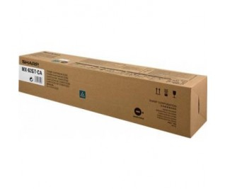 SHARP MX62GTCB 40000PAGES CYAN TONER CARTRIDGE