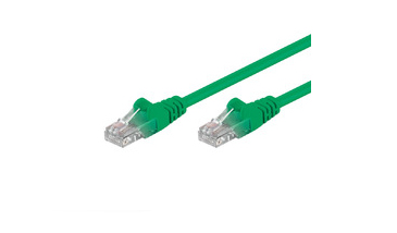 MICROCONNECT UTP615G CAT6 U/UTP 15M (UTP) GREEN NETWORKING CABLE