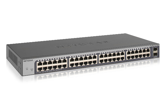 NETGEAR GS750E MANAGED L2 GIGABIT ETHERNET 1U BLACK