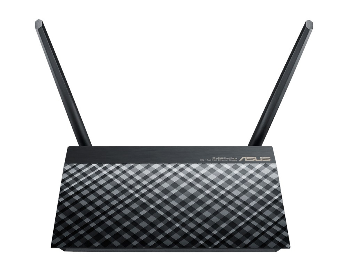 ASUS RT-AC51U DUAL-BAND (2.4 GHZ / 5 GHZ) FAST ETHERNET BLACK WIRELESS ROUTER