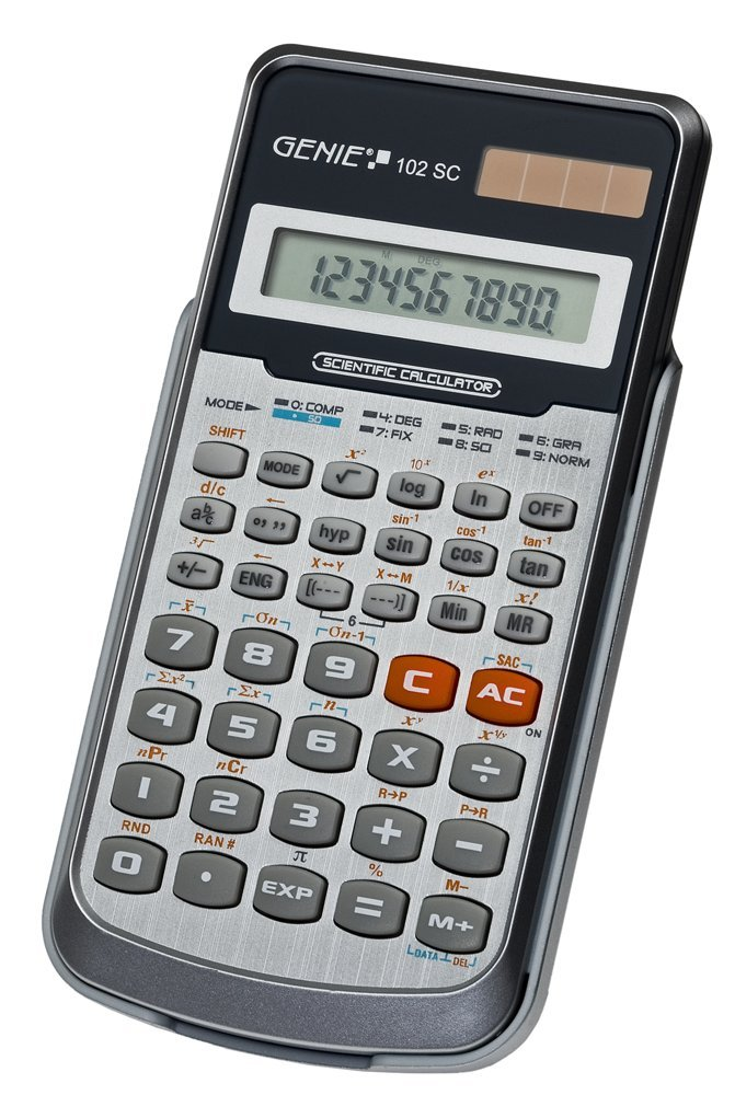 GENIE CCTV 11262 VALUE 102 SC SCIENTIFIC CALCULATOR