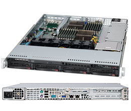 SUPERMICRO 1022G-NTF AMD SR5670 SOCKET G34 1U BLACK