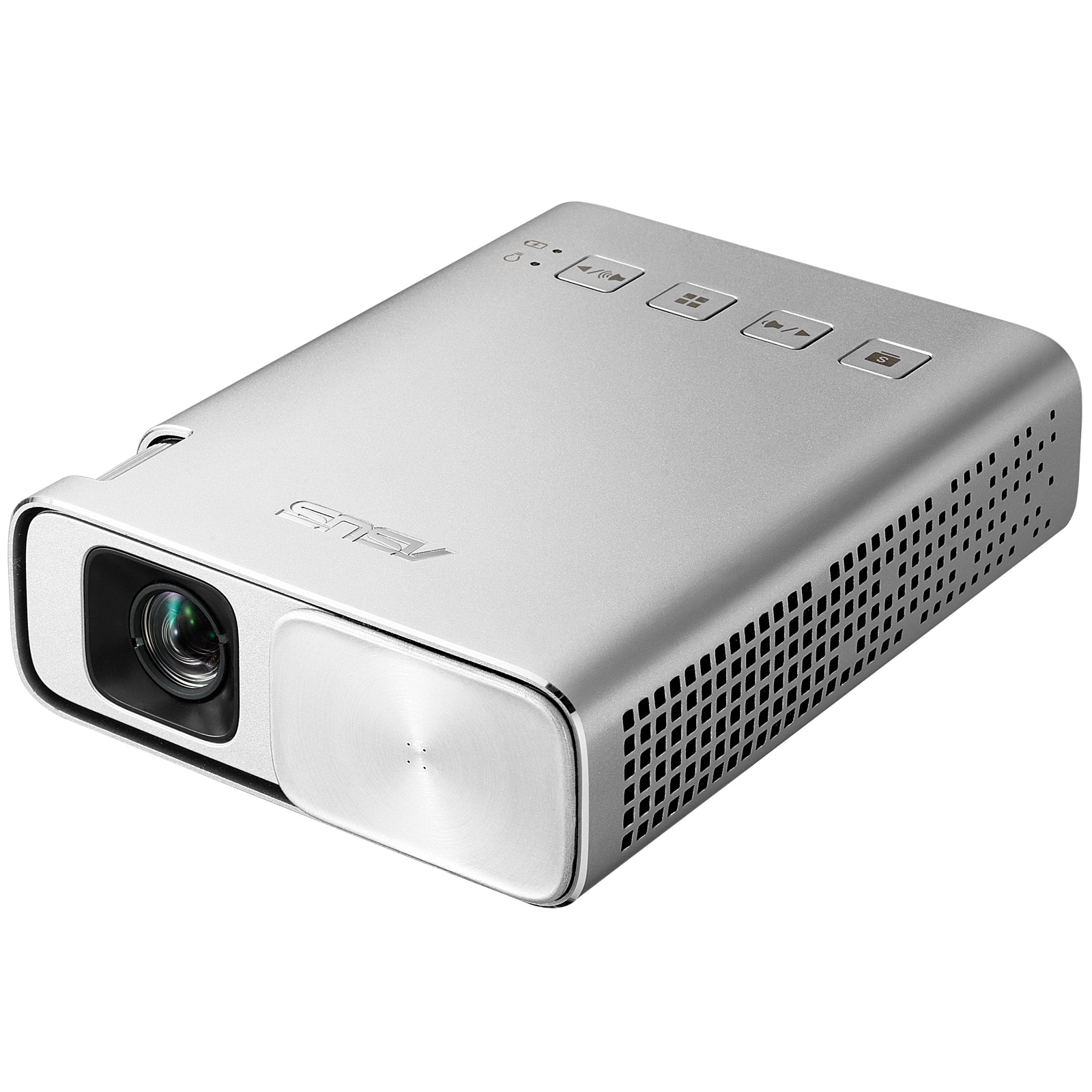 ASUS ZENBEAM E1 PORTABLE PROJECTOR 150ANSI LUMENS DLP WVGA (854X480) SILVER DATA