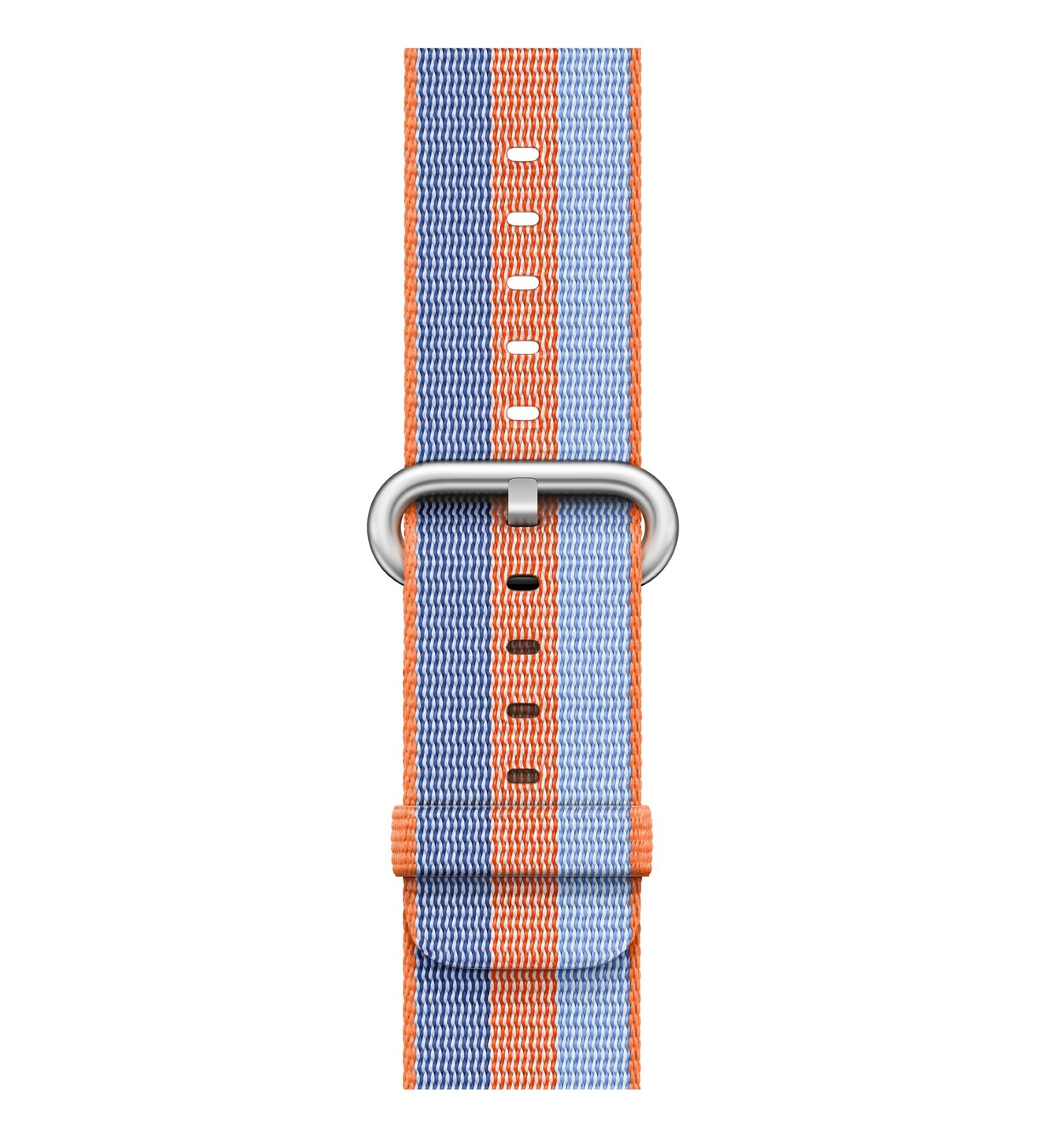 APPLE 42MM ORANGE WOVEN NYLON
