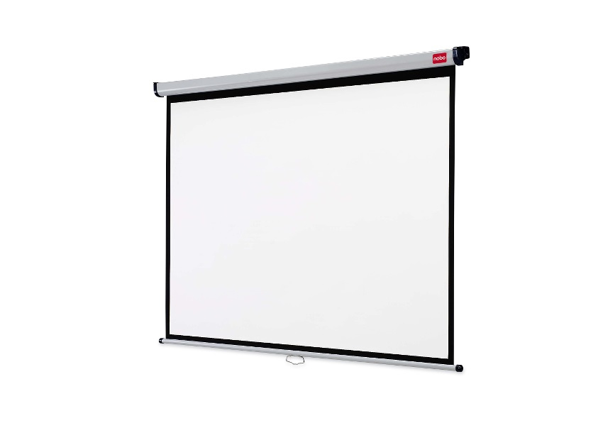 NOBO 1902392 WALL MOUNTED PROJECTION SCREEN 1750X1325MM