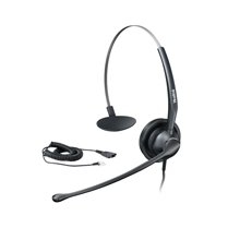 YEALINK YHS33 HEADSET - YHS33, COMPATIBLE WITH T2, T3 AND T4 SERIES IP PHONES