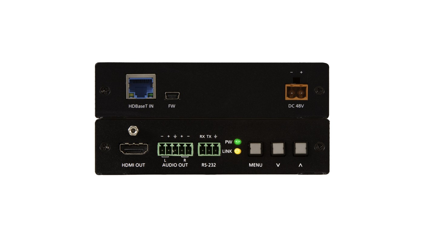 Atlona AT-HDVS-150-RX AV extender AV receiver Black