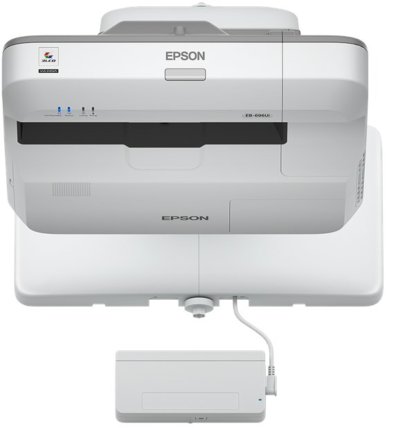 EPSON EB-696UI WALL-MOUNTED PROJECTOR 3800ANSI LUMENS 3LCD WUXGA (1920X1200) GREY,WHITE DATA