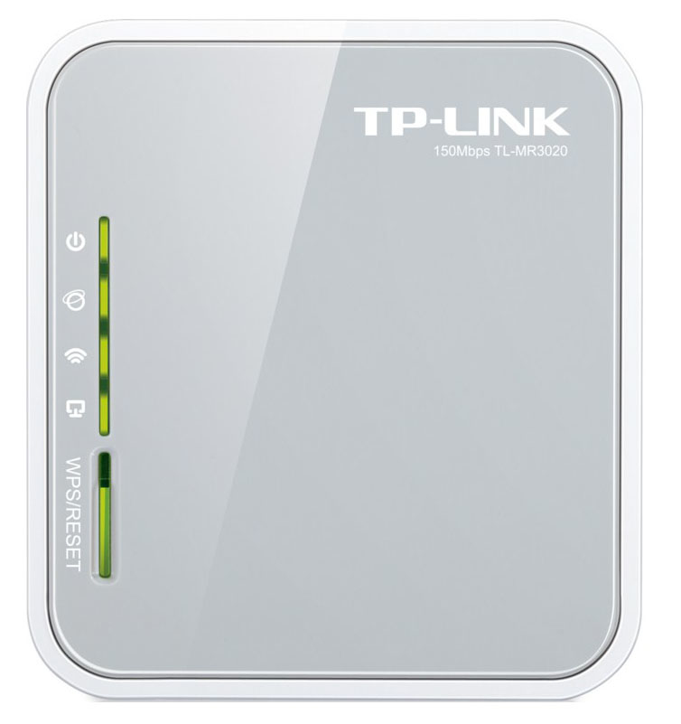 TP-LINK TL-MR3020 SINGLE-BAND (2.4 GHZ) FAST ETHERNET 3G 4G GREY,WHITE WIRELESS ROUTER