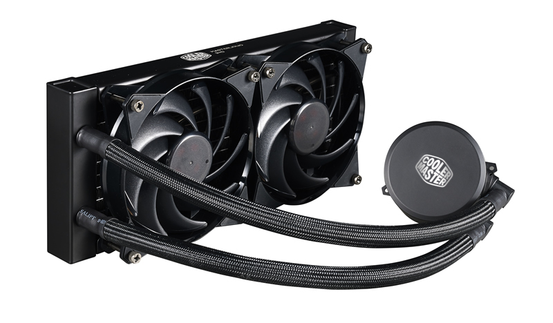 COOLER MASTER MASTERLIQUID 240 PROCESSOR LIQUID COOLING