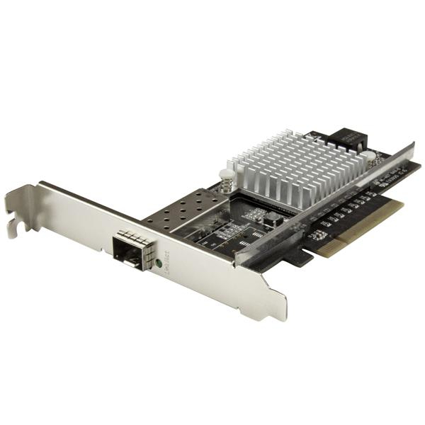 STARTECH PEX10000SFPI 1-PORT 10G OPEN SFP+ NETWORK CARD - PCIE INTEL CHIP MM SM PCI EXPRESS NIC W ETHERNET