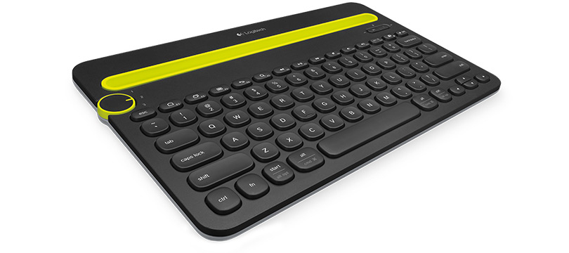 LOGITECH K480 BLUETOOTH QWERTZ GERMAN BLACK